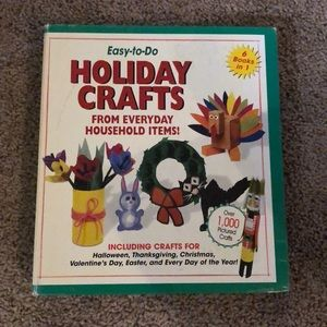 Holiday Craft Book East to do From Household Items